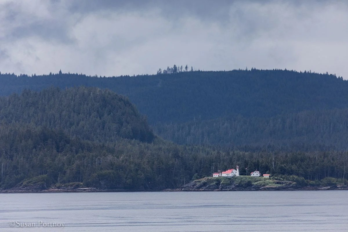 A lighthouse view from my veranda. - Lessons Learned on an Alaskan Cruise -198420180608