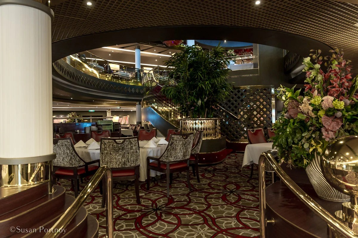 The Main Dining Room, taken while everyone was on deck looking at the Margerie Glacier. - Lessons Learned on an Holland America Alaskan Cruise-487920180609
