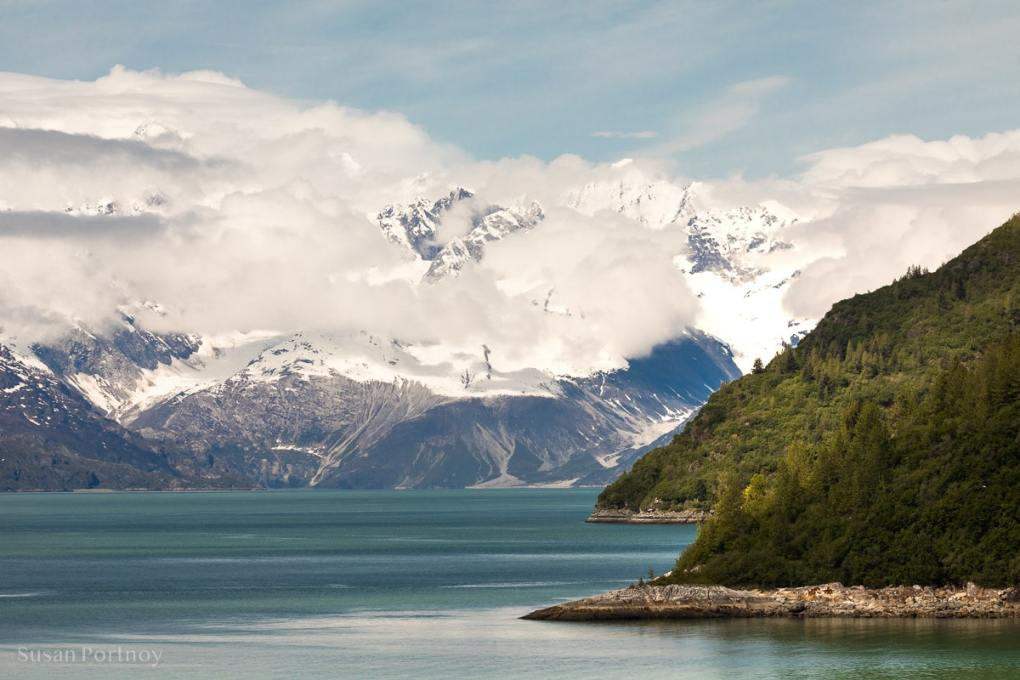 A view from the Westerdam in Alaska in Glacier Bay - The Truth about Holland America's Alaska Land and Sea Adventure -16322018060401