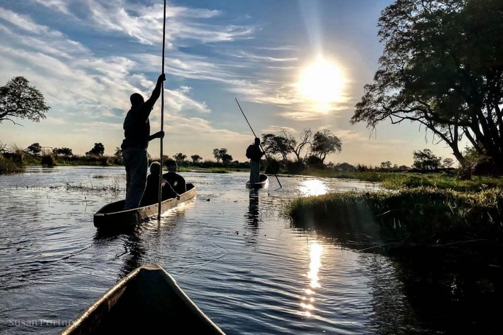 A mokoro we will go - Duba Explorers Camp Okavango Delta, Botswana-African Photo Safaris