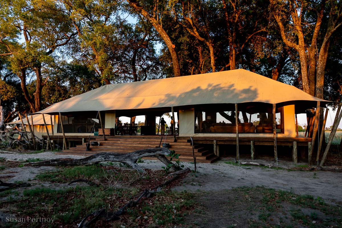 Main Tent at Duba Explorers Camp