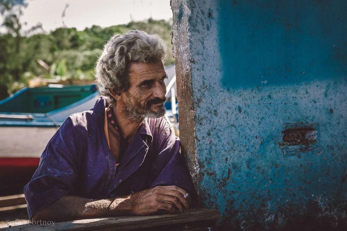 Fisherman in Cojimar, Cuba