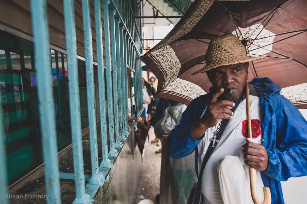 Portrait of a man in Bejucal, Cuba