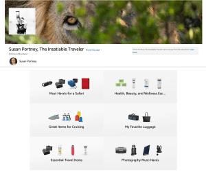 The Insatiable Traveler Amazon Shop