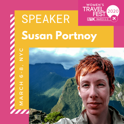Susan Portnoy Speaker at the 2020 Women's Travel Fest