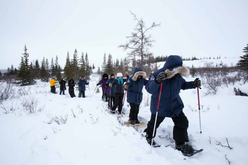Frontiers North Snowshoeing