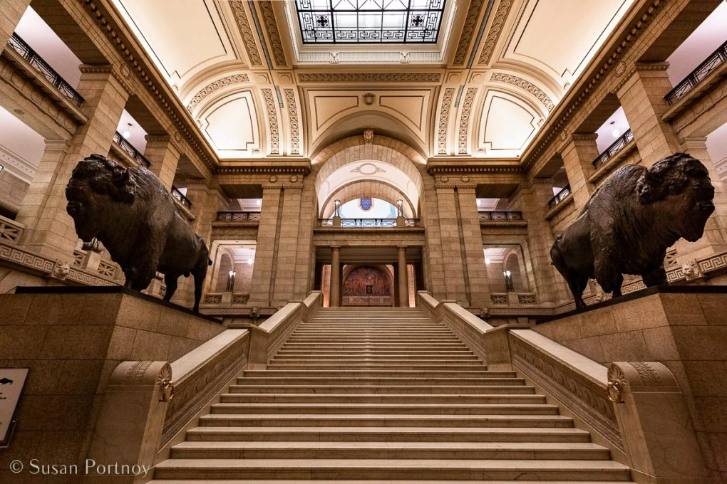 Inside the Manitoba Legislative Building