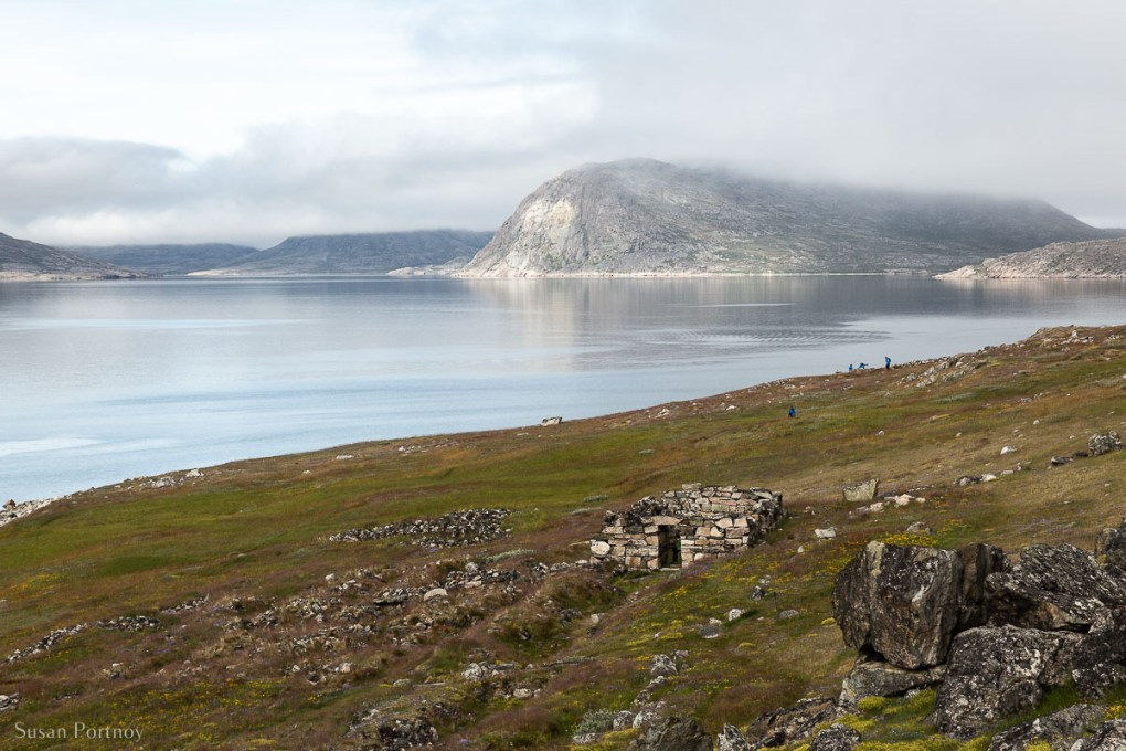 The manor House ruin on Hvalsey in Greenland. An important location in the history of the Norse in both Iceland and Greenland.