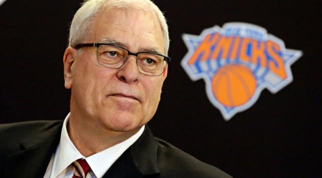Phil Jackson Former New York Knicks President