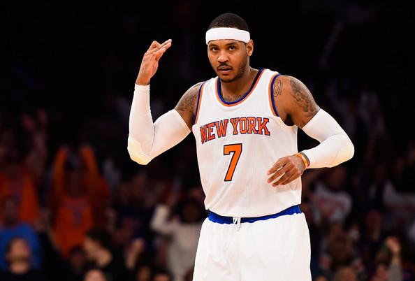 Carmelo Anthony to Houston Rockets