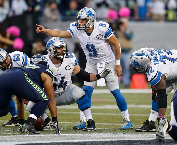 NFL Matt Stafford against the Seahawks