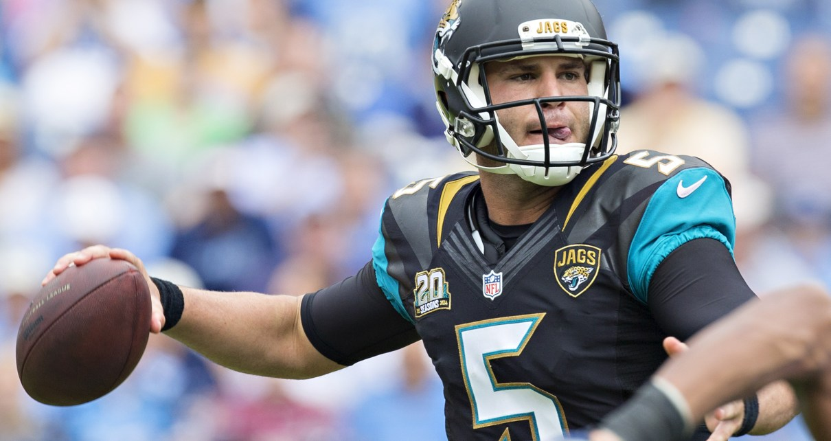 Can Blake Bortles lead the Jags