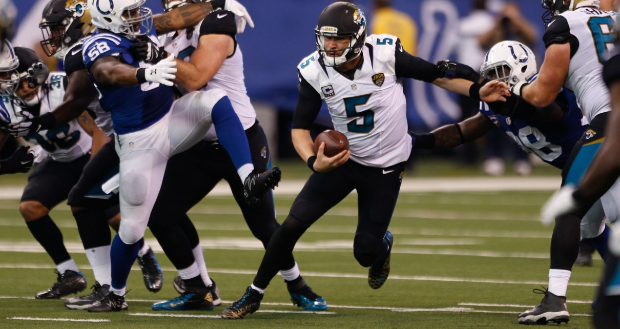 Do the Jags exercise Blake Bortles option