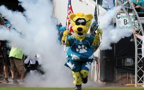 Jacksonville Jaguars splash