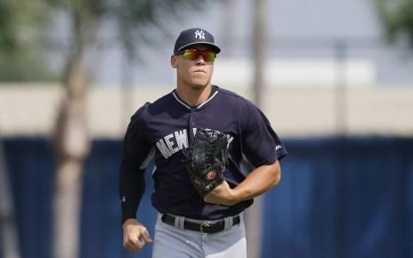 Aaron Judge New York Yankees star