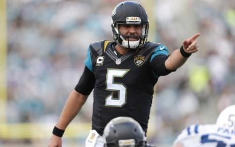 Jacksonville Jaguars QB Blake Bortles