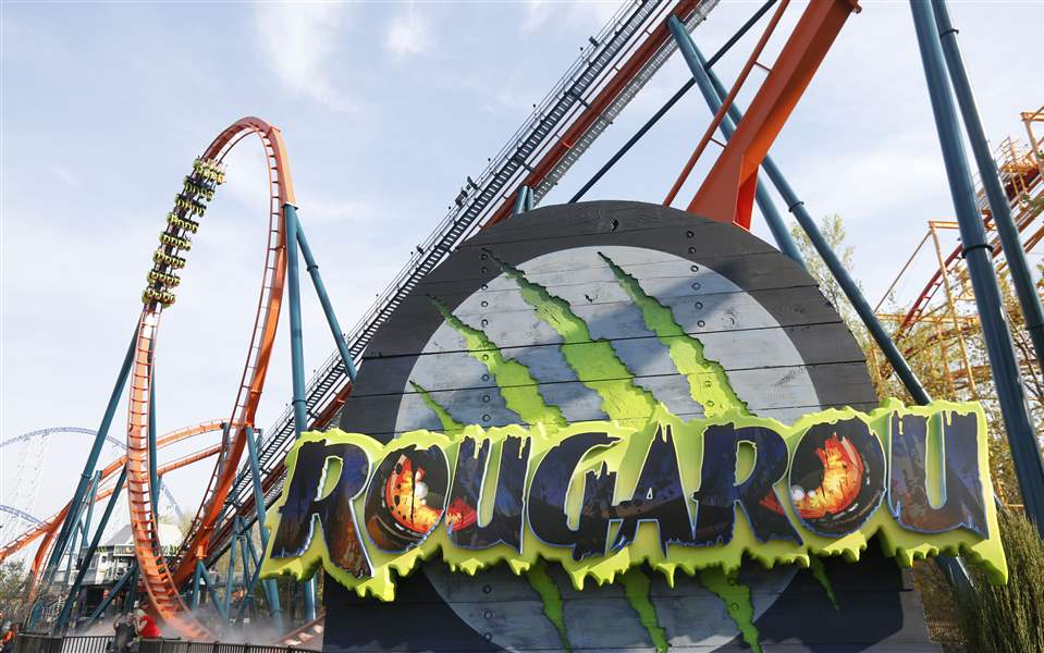 Cedar Point coaster Rougarou