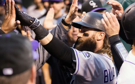 Colorado Rockies in contention