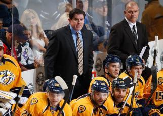 Peter Laviolette Head Coach Nashville Predators