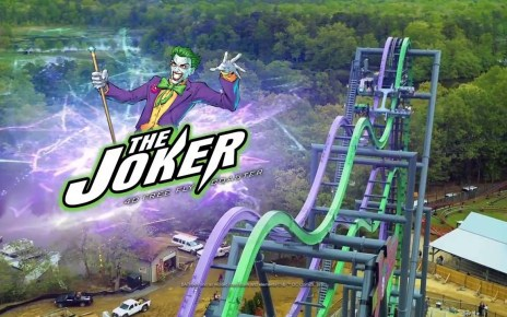 The Joker at Six Flags Great America