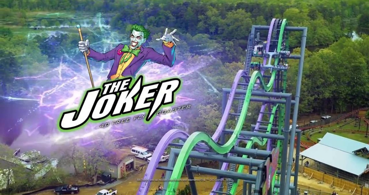 The Joker at Six Flags