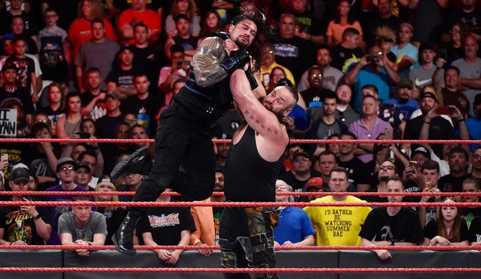 Braun Strowman and Roman Reigns