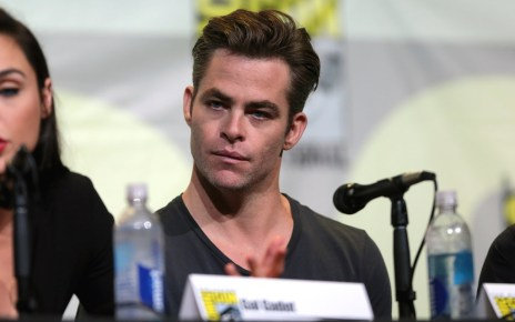 Chris Pine Wonder Woman DCEU