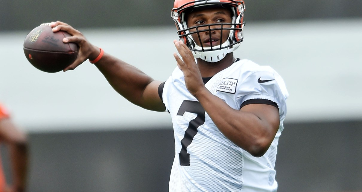 DeShone Kizer could start for the Cleveland Browns
