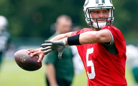 Christian Hackenberg QB New York Jets
