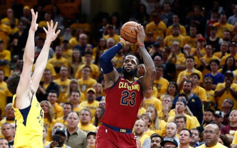 LeBron James (April 27, 2018- Source: Andy Lyons/ Getty Images North America)