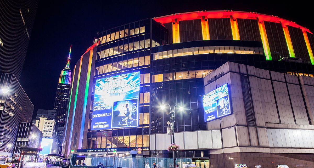 Madison Square Garden (Anthony Quintano- Engagement Editor at Honolulu Civil Beat)