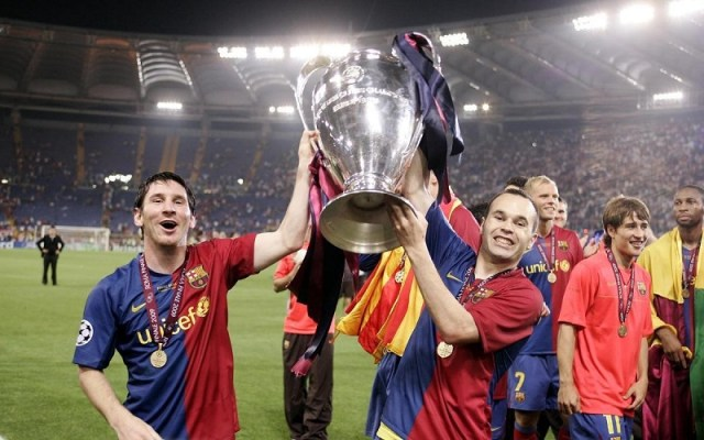 Barca's Champions League title 2008-2009