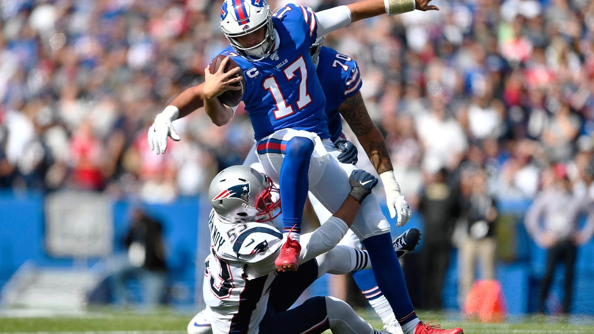 Josh Allen: Despite Pats Addition of Cam Newton, Bills Are The Team To Beat In AFC East