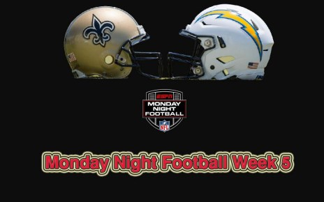 Los Angeles Chargers vs. New Orleans Saints
