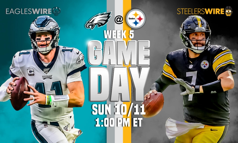 Pittsburgh Steelers Vs Philadelphia Eagles Live Streaming Nfl Reddit Free