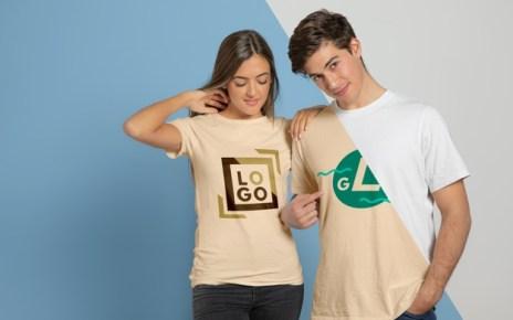 Wearing Customized T-Shirts