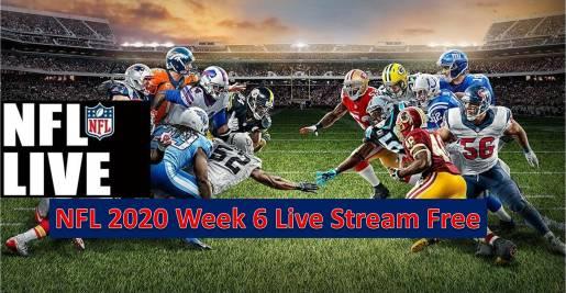 NFL 2020 Week 6