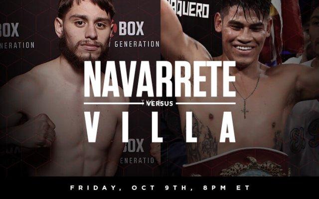 Emanuel Navarrete vs Ruben Villa