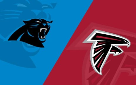 Panthers vs Falcons live