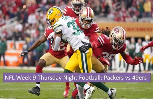 Packers vs 49ers reddit streams free