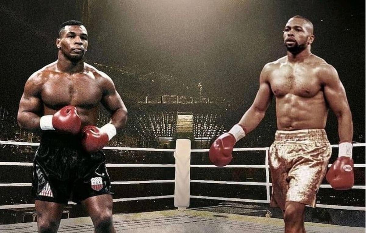 Mike Tyson vs. Roy Jones Jr. Live Boxing