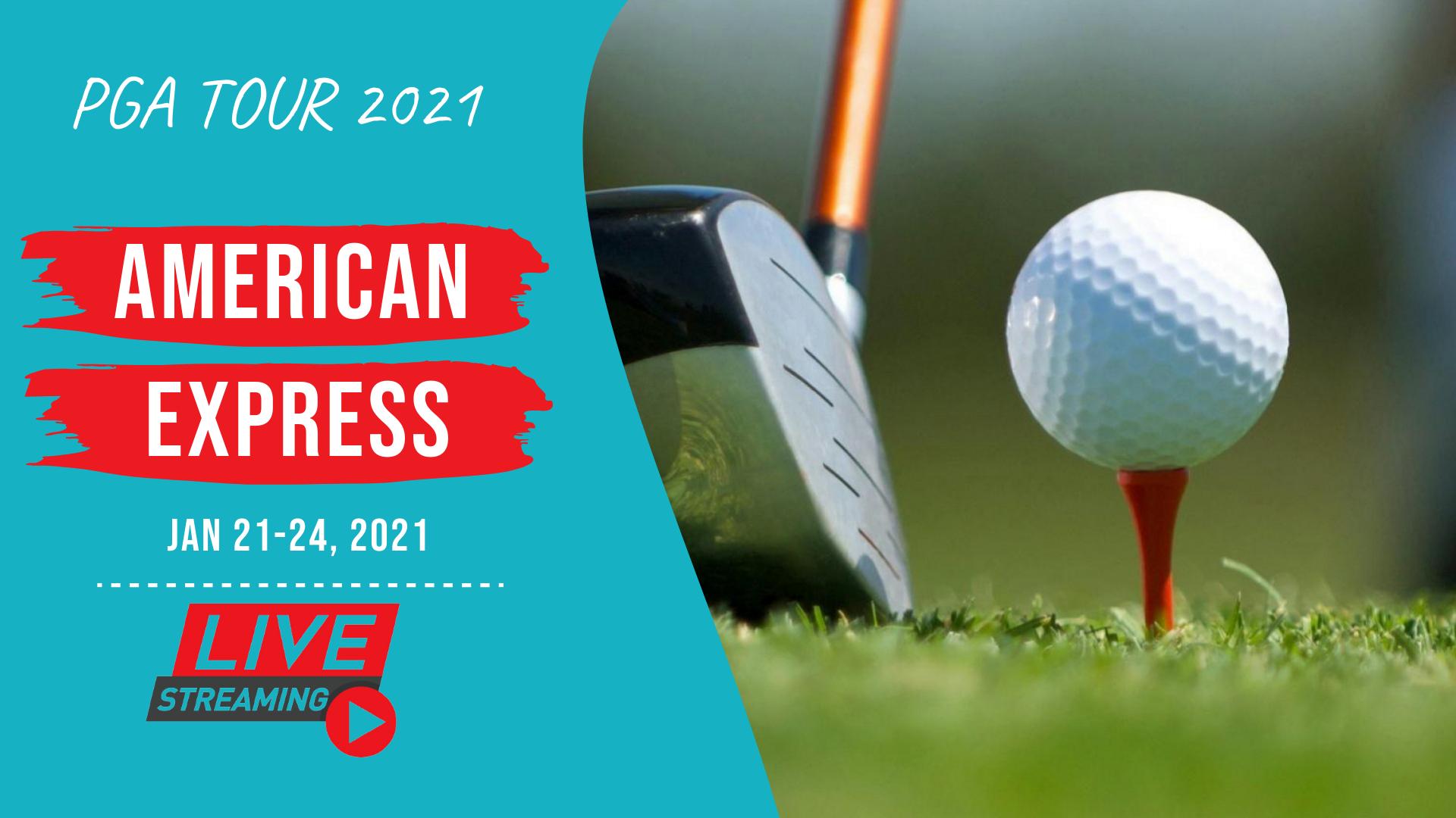 American Express golf 2021