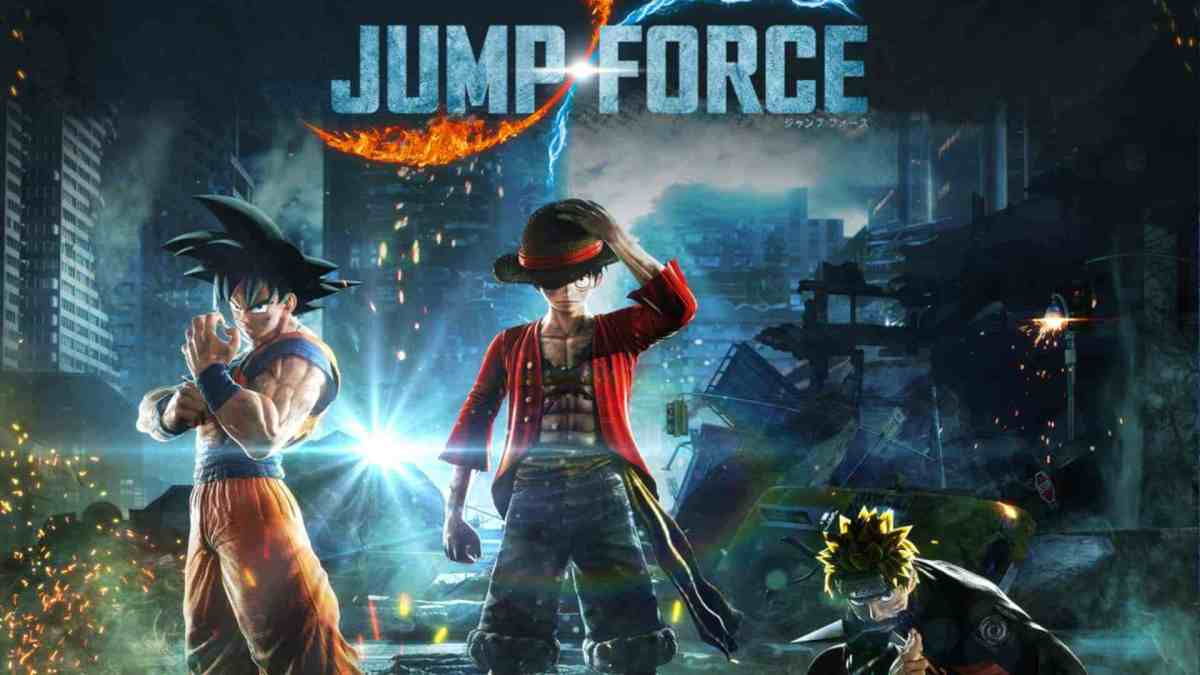 Jump Force Anime Fighting Games