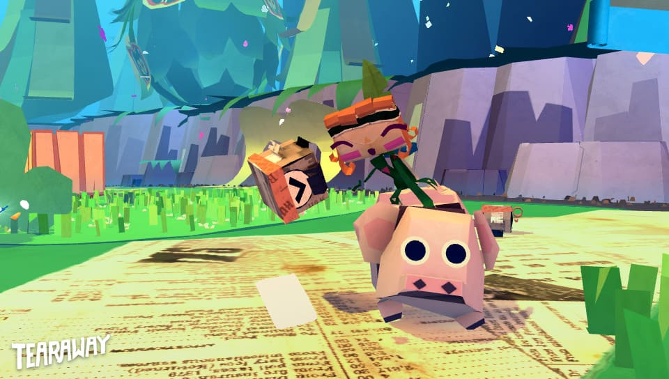 Tearaway PS4 Games for Kids