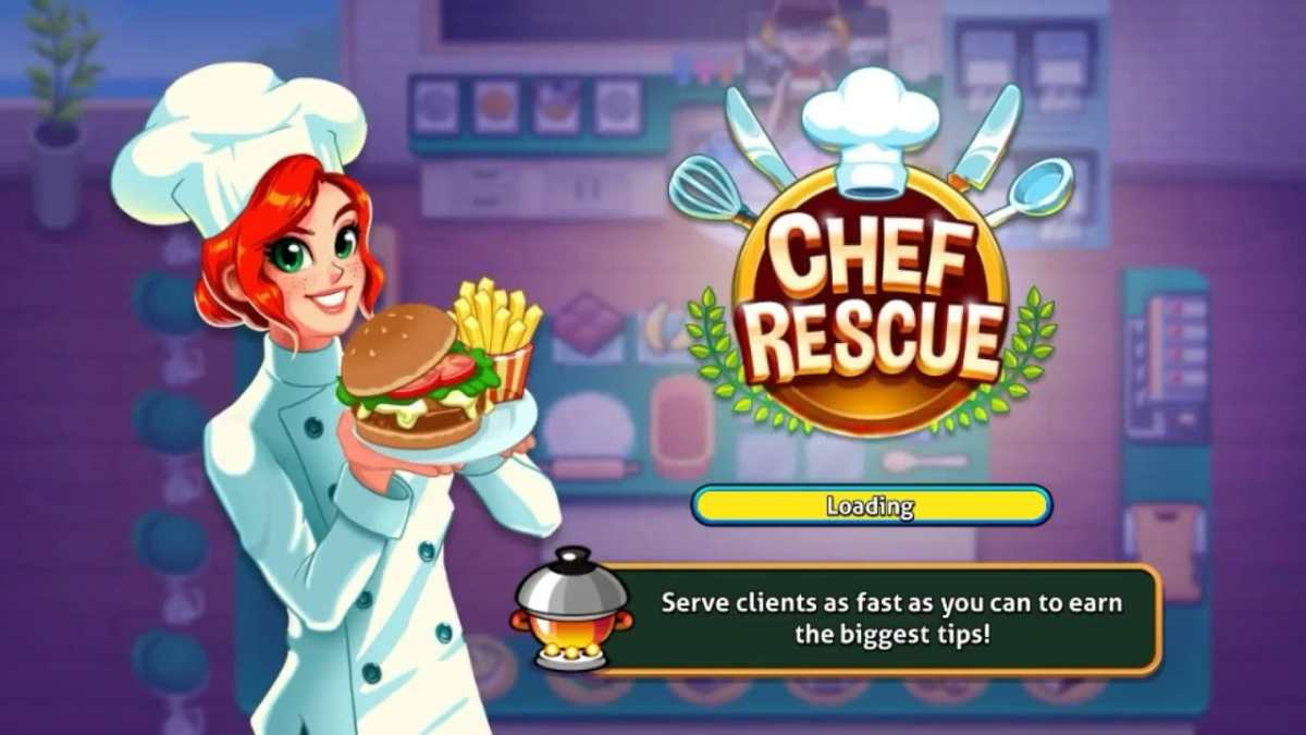 Chef Rescue Cooking Games for Girls