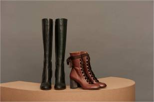 HARPER BOOTS & LACE UP ANKLE BOOTS