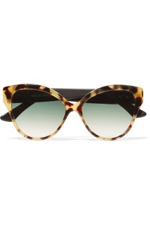 Cutler and Gross Tequila Sunrise Cat-Eye Acetate Sunglasses AED 1,482