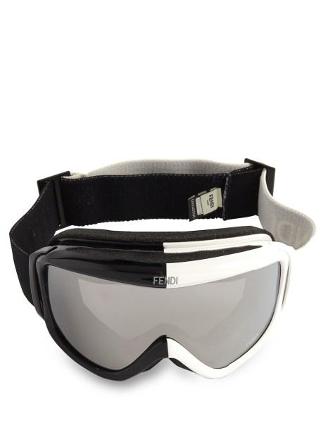 Fendi Logo Strap Goggles
