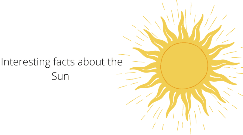 Interesting facts about the Sun