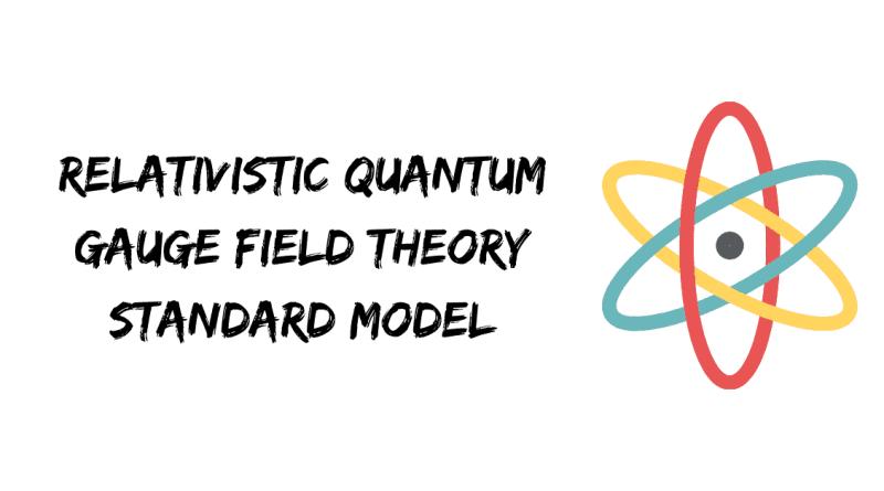 Relativistic quantum field theory standard model